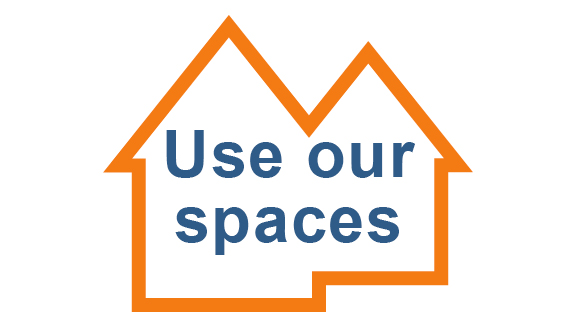 Using our spaces