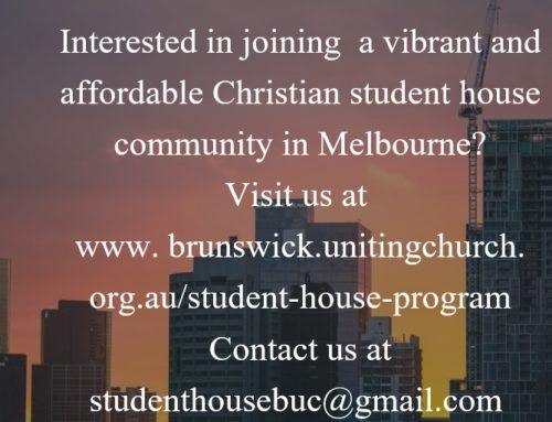 Student House Program