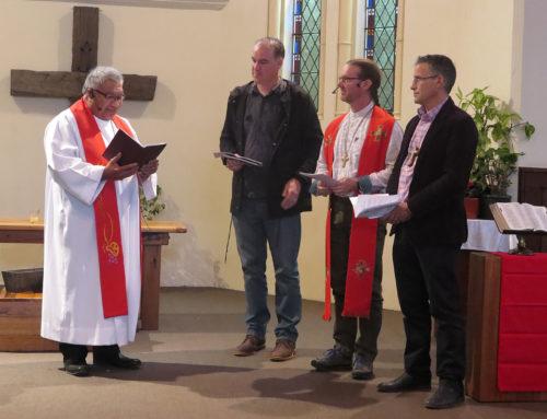 Commissioning our Pastors